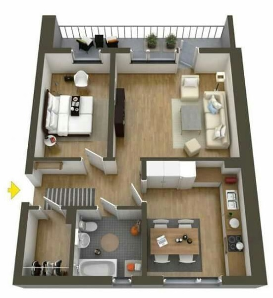 tips interior rumah tipe 36