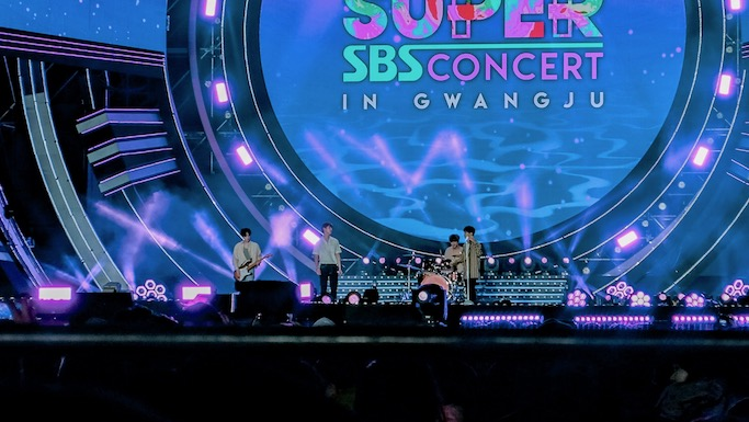 N. Flying Kpop sbs super concert in gwangju