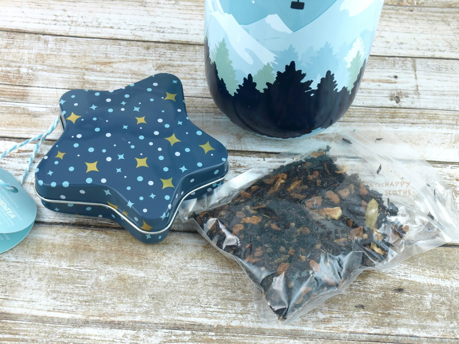DAVIDsTEA cardamom french toast filled star ornament