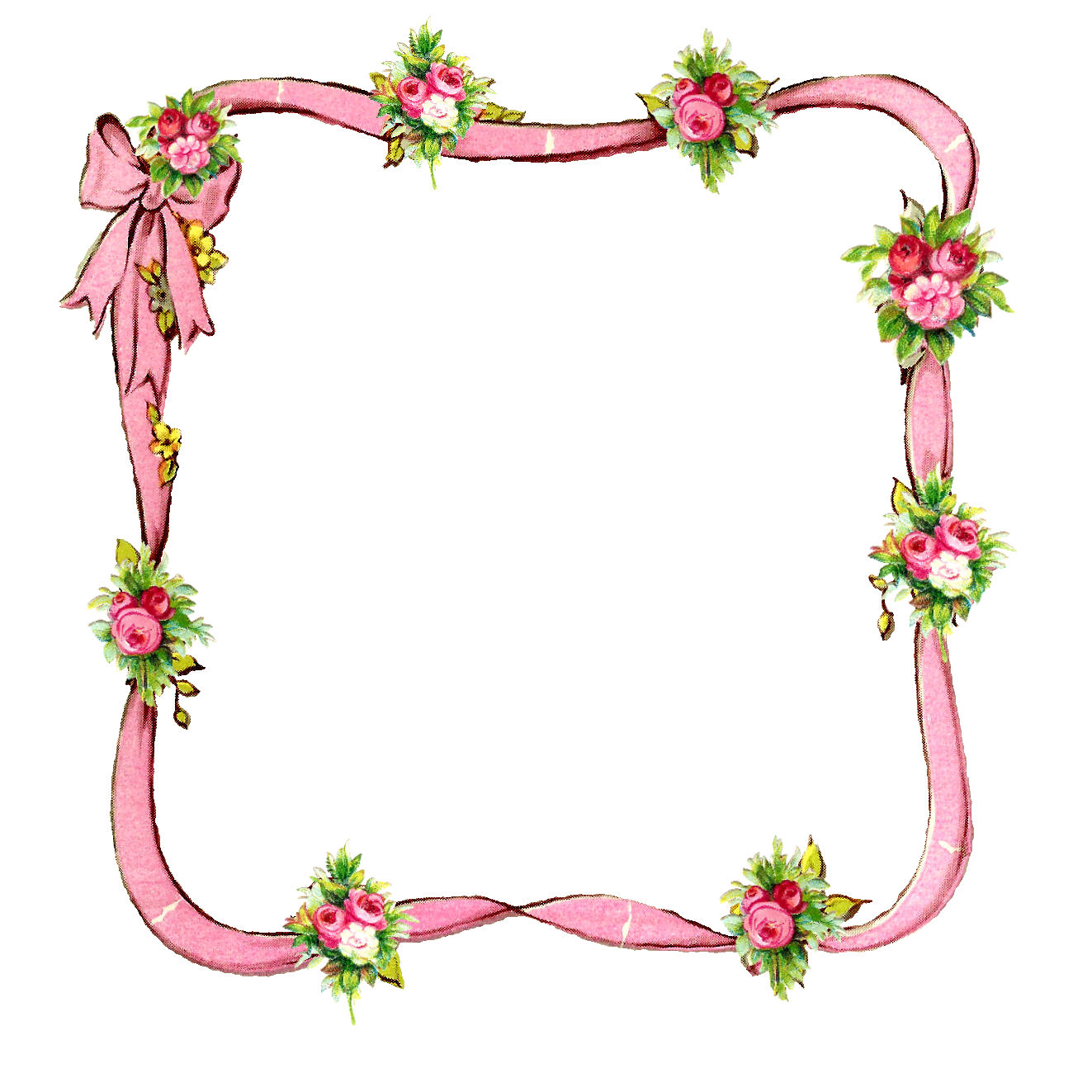 graphic about Printable Graphics named The Graphics Monarch: No cost Printable Do-it-yourself Rose Ribbon Electronic