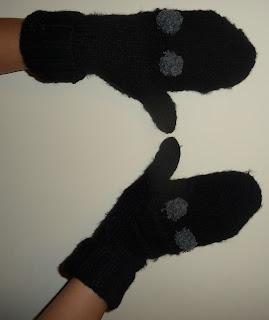 rękawiczki ze swetra jak zrobić