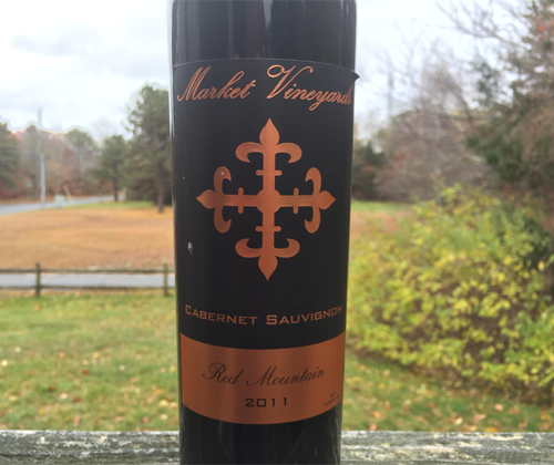 Market Vineyards Red Mountain Acquisition Cabernet Sauvignon 2011