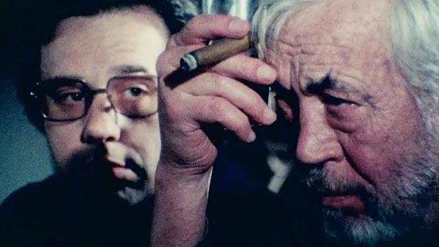 John Huston Peter Bogdonavich Orson Welles | Netflix The Other Side of the Wind
