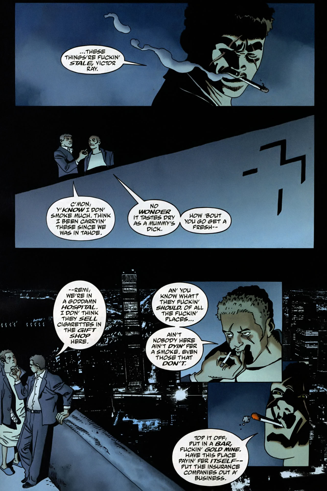 Read online 100 Bullets comic -  Issue #95 - 10
