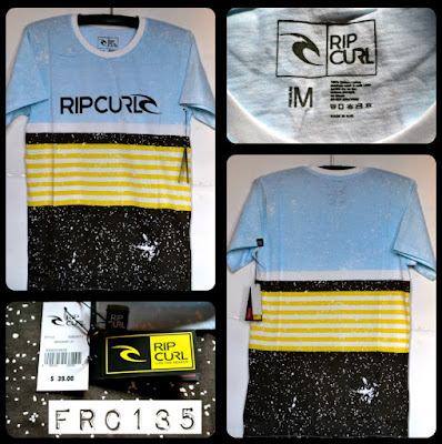 Kaos Surfing Skate RIPCURL Kode FRC135