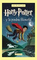 Harry Potter y la piedra filosofal, J.K. Rowling.