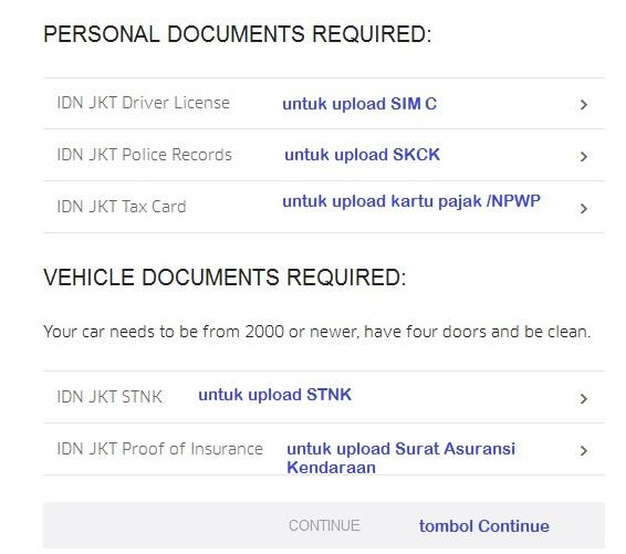 cara daftar ubermotor, cara mendaftar ubermotor, lowongan ubermotor