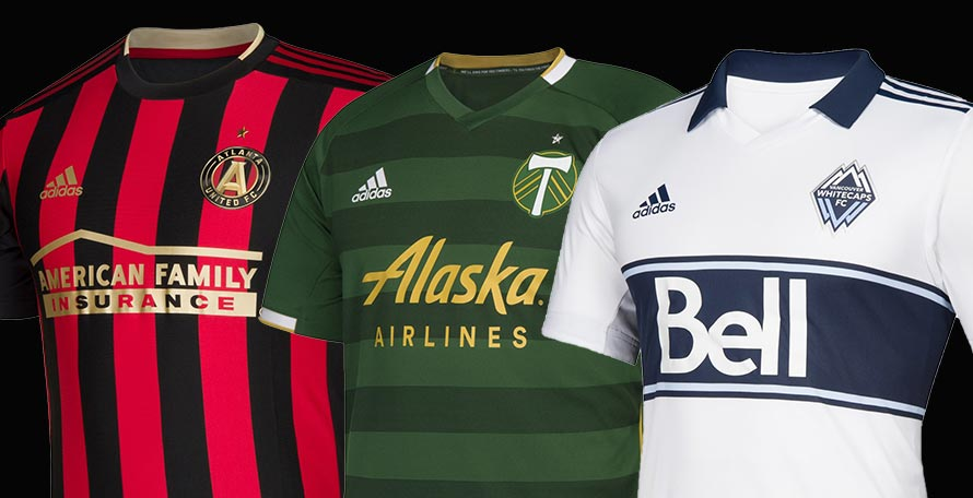 77a22f2bb83 ... the 25 new Adidas jerseys we ll see on the Major League Soccer pitches  this upcoming season. In total