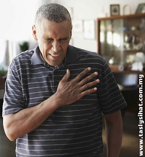 Sakit dada, petanda serangan jantung