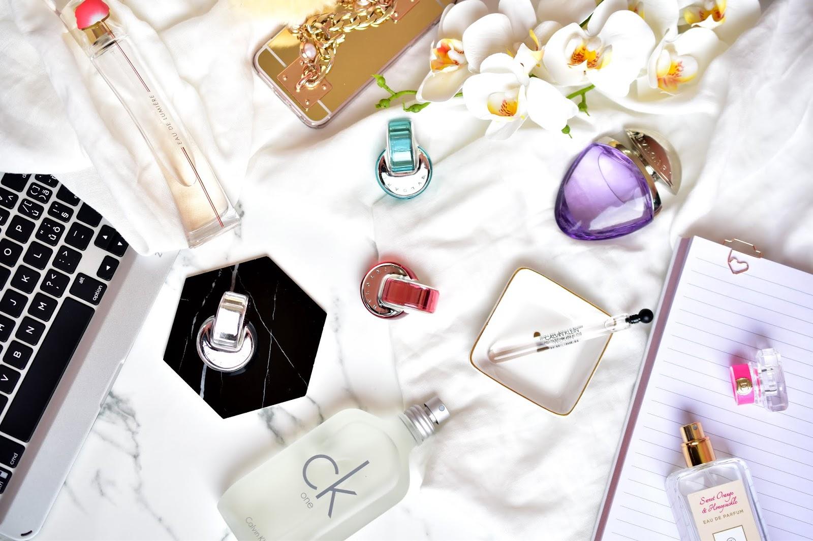 obľúbené parfémy