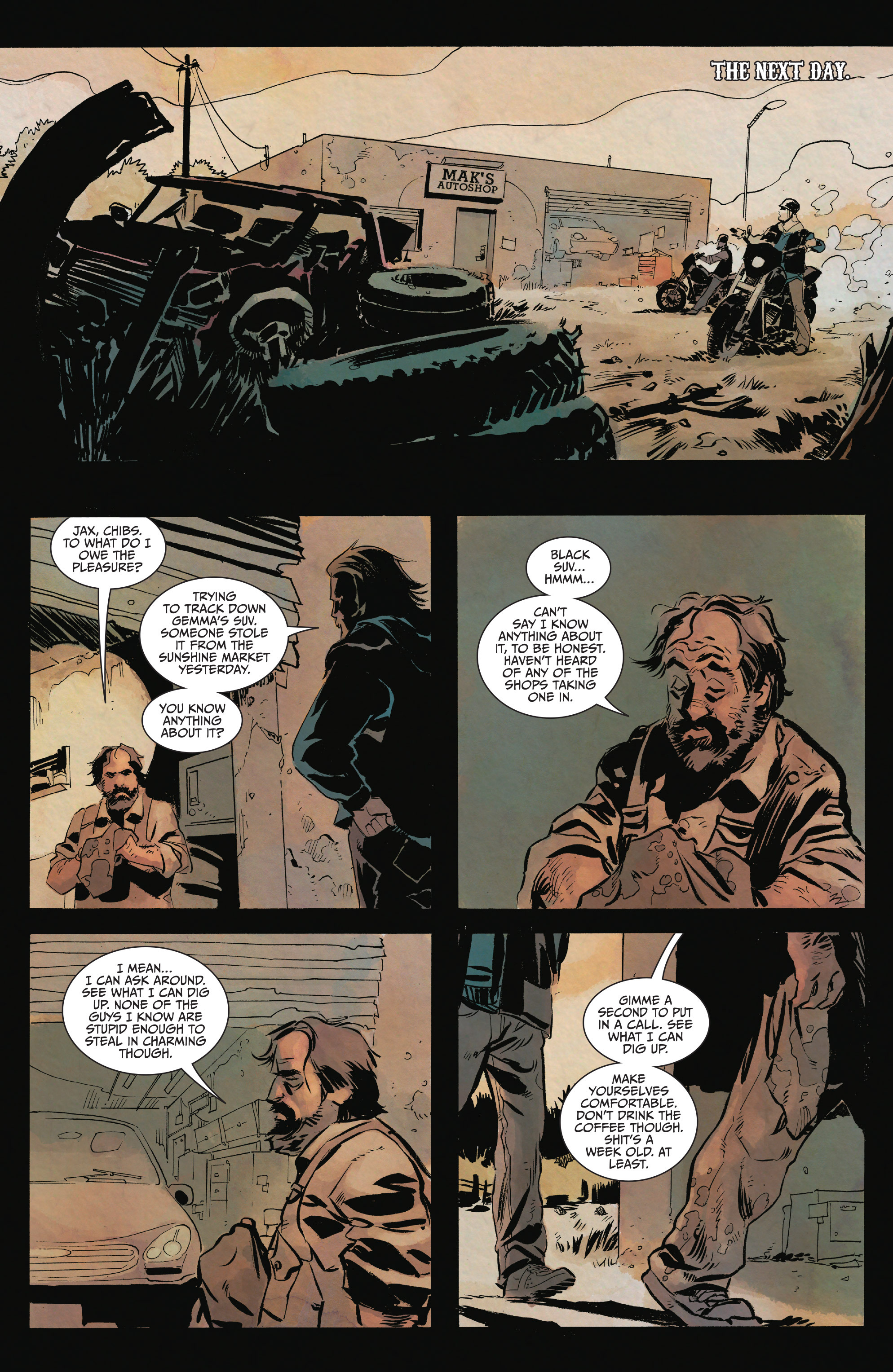 Read online Sons of Anarchy comic -  Issue #15 - 5