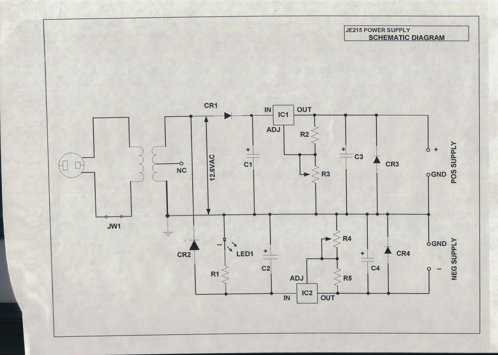 Old School Electronics Schematics