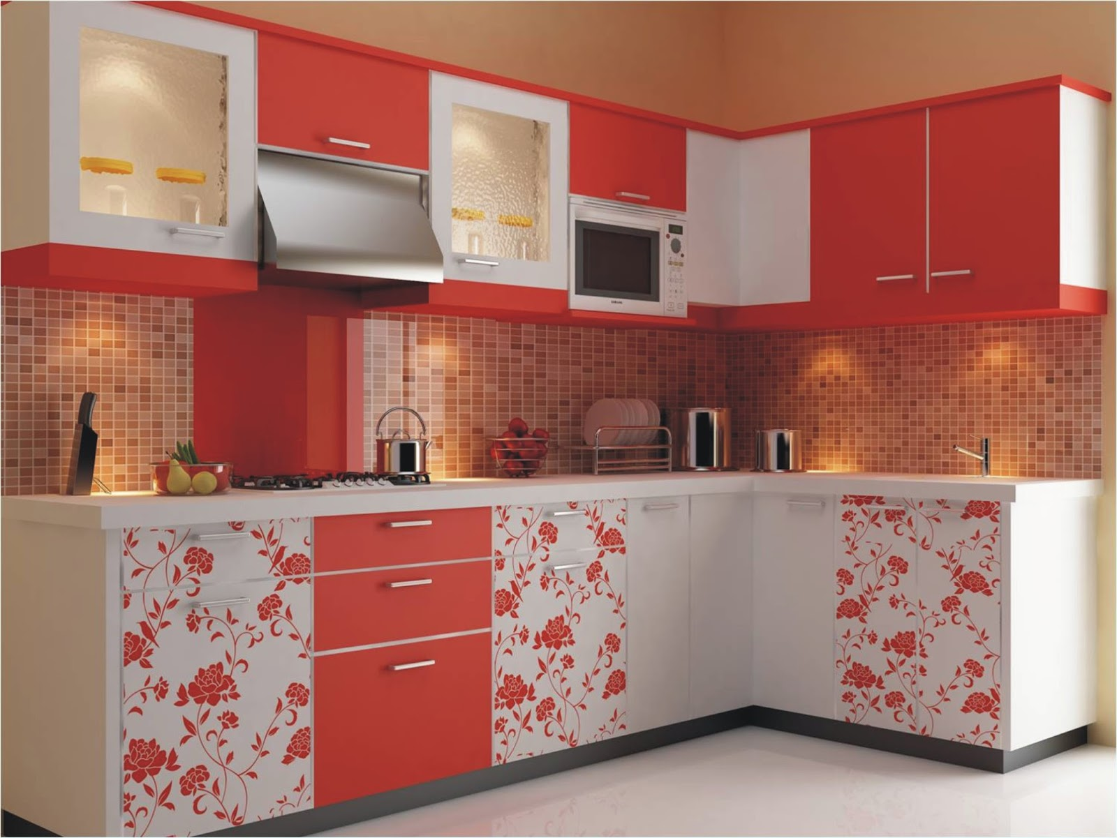 Colourful Kitchen Designs Home Designs Inspiration