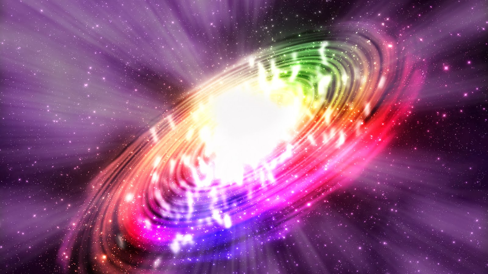 Fondos De Pantalla Gratis San Valentin 16: Fondo De Pantalla Abstracto Galaxia De Colores