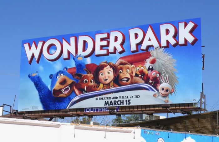 Wonder Park movie billboard