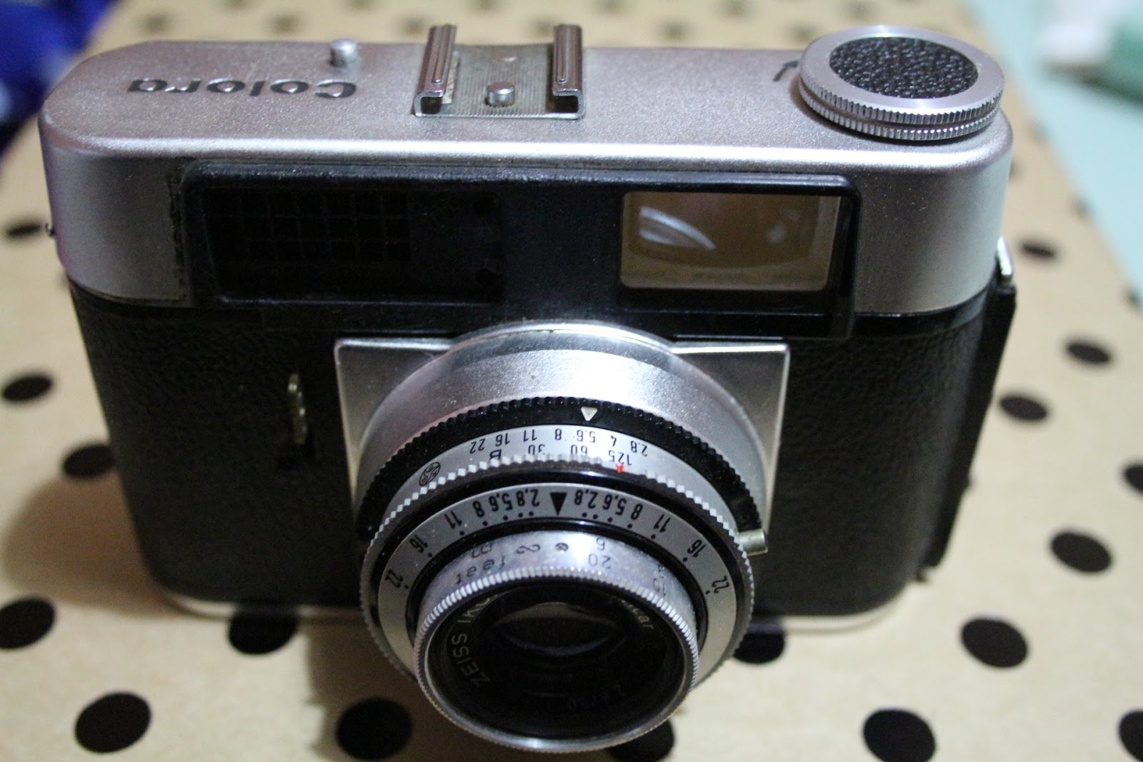 John Margetts' old camera blog : Zeiss Ikon Colora
