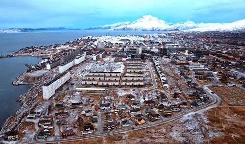 Nuuk - capital da Groelandia