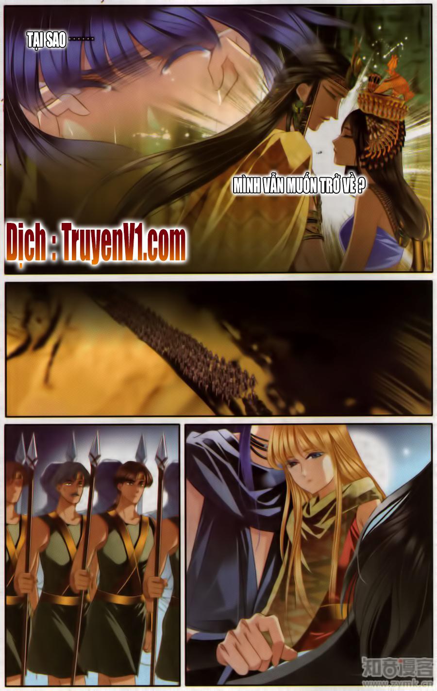 Sủng Phi Của Pharaoh - Chap 57.2