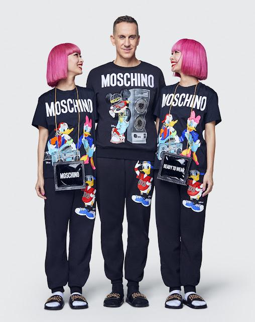 Jeremy Scott for Moschino x H&M with Amiaya