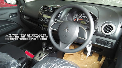 INTERIOR MITSUBISHI NEW MIRAGE AUTOMATIK