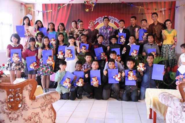 Siswa TK dan SD Global Prima Sukses Gelar Perpisahan