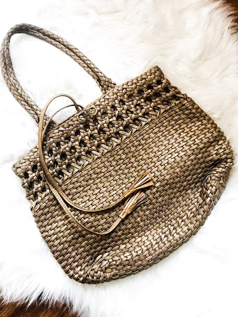 thrifted high-end bags, ferragmo bags, high-end straw bags, designer summer bags