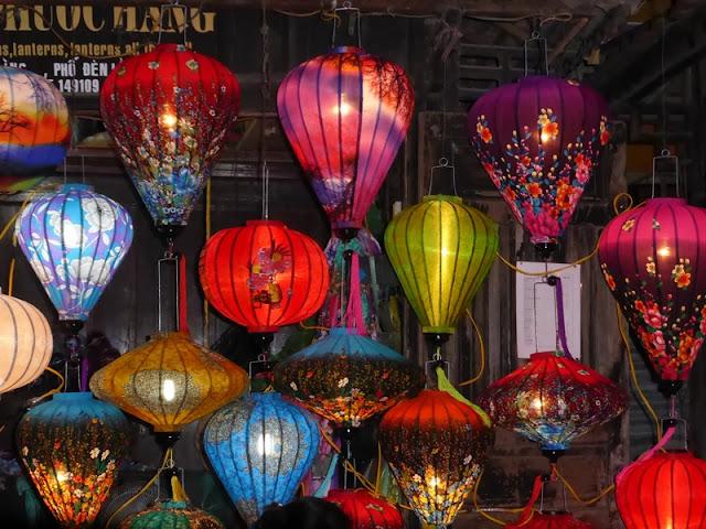 Lámparas de papel de Hoi An