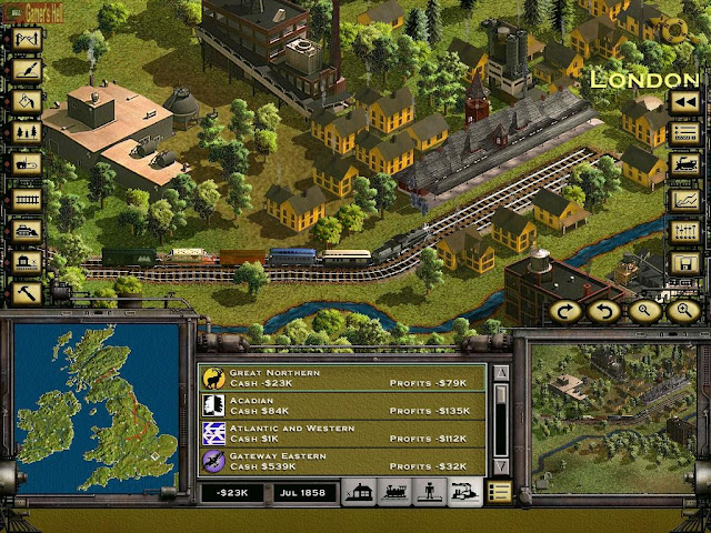 Railroad Tycoon 2 PC Free