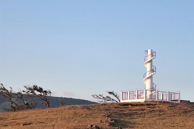 The lighthouse of Calayan Island