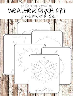 Montessori activities: clouds 3 part cards by Welcome to Mommyhood #montessori, #preschool, #3partcards, #scienceactivities, #totlabs, #Montessoriactivities