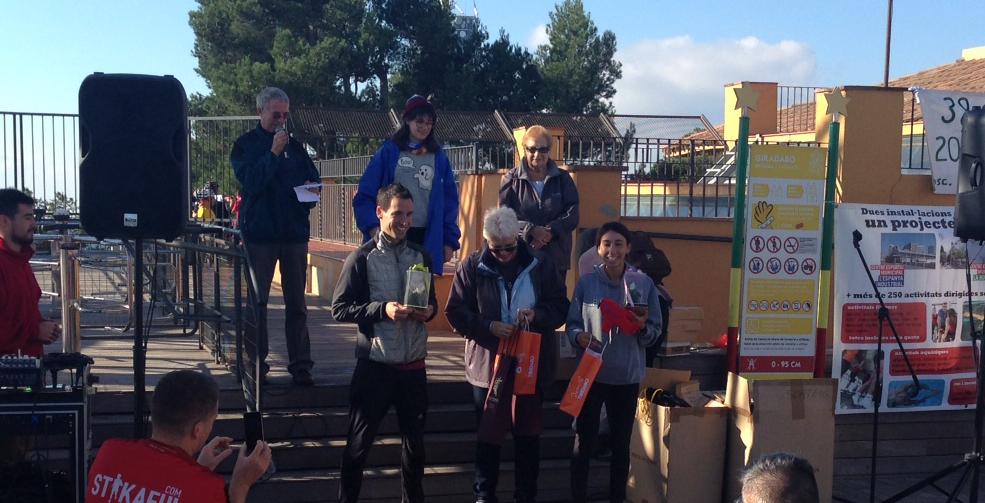 Carles Montllor y Elisabeth Martín vencen la Cursa de l'Amistat 2016