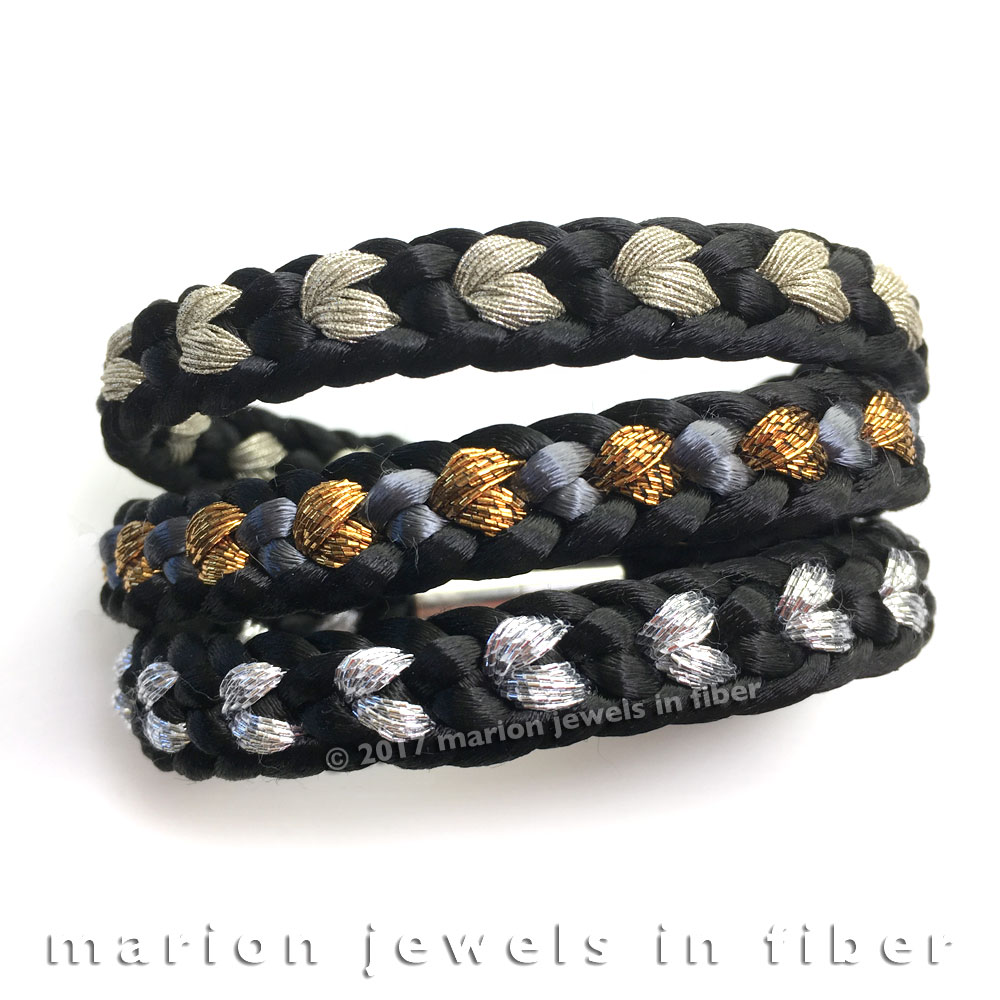 Marion Jewels in Fiber - News and Such: 8-Strand Flat