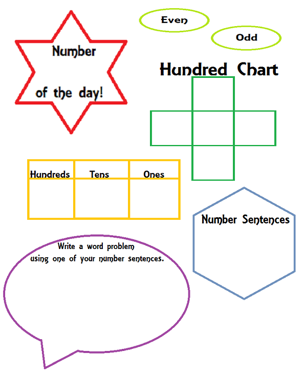 Number of the Day! - For The Teacher