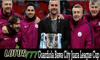 Guardiola Bawa City Juara League Cup