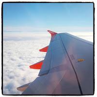 au-dessus des nuages par le hublot easy jet