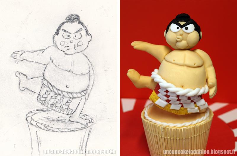 Expo Tarta 2013 :  Cupcakes Japonais - Le Sumo