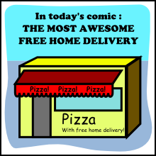 best pizza shop with free home delivery