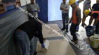 area kerja epoxy lantai