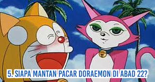 Siapa mantan pacar Doraemon di abad 22?