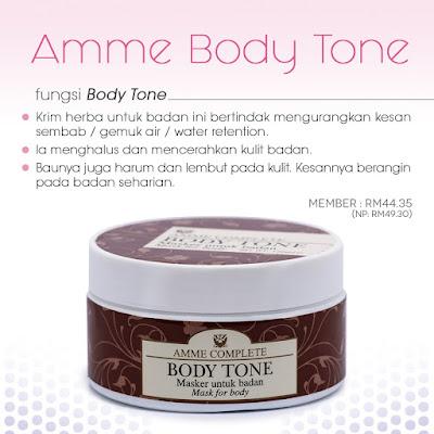 Amme Body Tone Sendayu Tinggi