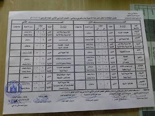 جدوال امتحانات اخر العام 2016 محافظة بنى سويف بعد التعديل 12938316_1138071246204001_5731874420789223958_n