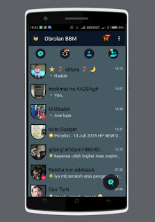 BBM Mod Flat Light v 2.9.0.45 + Setting Rounded DP
