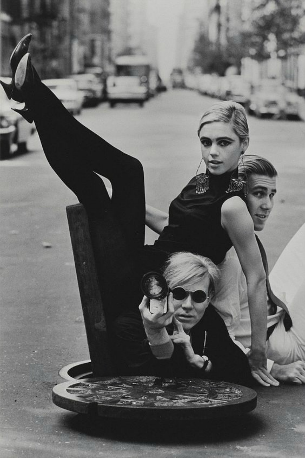 Edie and Andy Warhol
