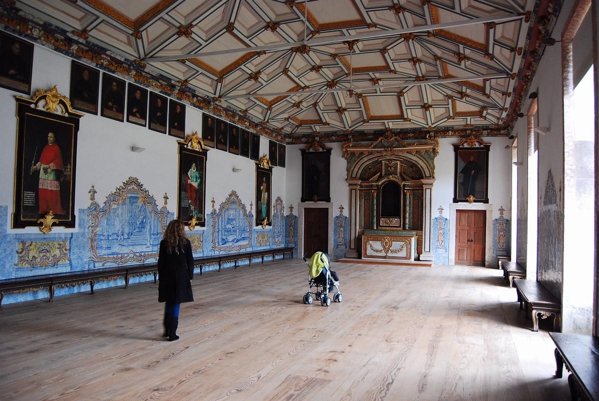 salle du chapitre monastère Tibaes