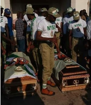 9 NYSC Members Who Drowned In Taraba Conveyed To Their States For Proper Burial[Photos]