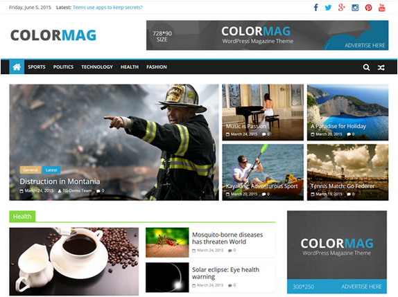 Colormag Responsive Blogger Template Download Liveask Liveask