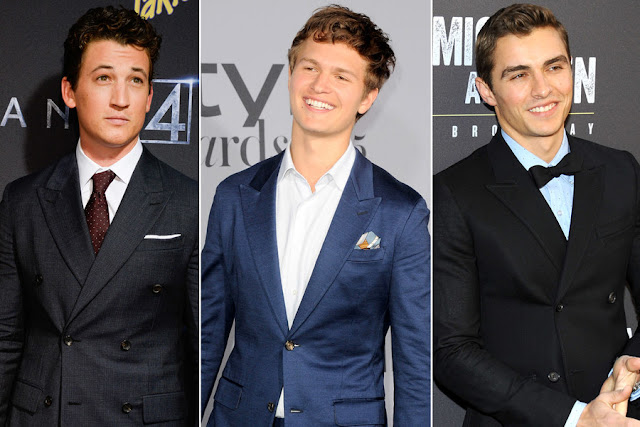 Miles Teller, Ansel Elgort and Dave Franco