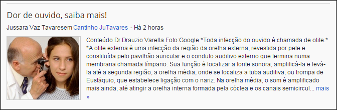 Blog Cantinho Ju Tavares