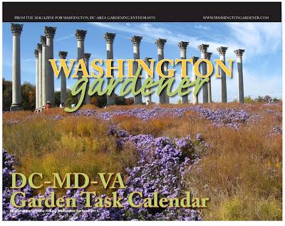 washingtongardener  dc md va gardening calendar