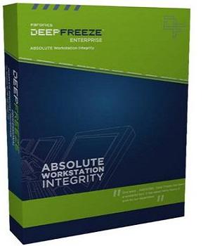 Faronics Deep Freeze Server Enterprise 8.38.270.5256 poster box cover